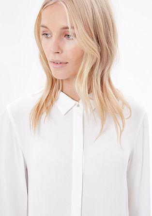 Lang model blouse van viscose