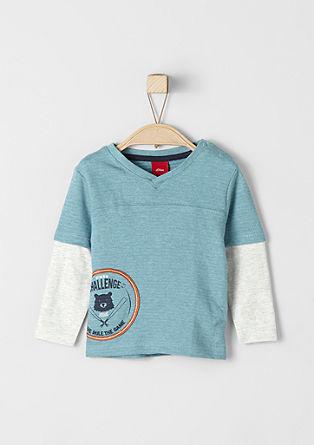 Langarmshirt im 2in1-Look