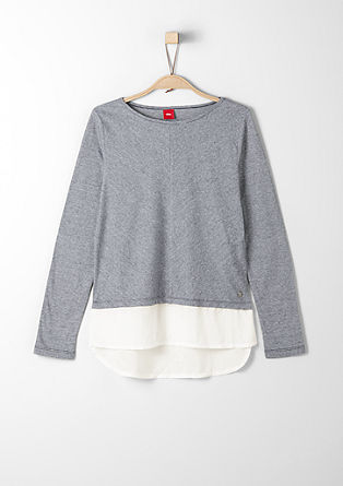 Langarmshirt im Layer-Look