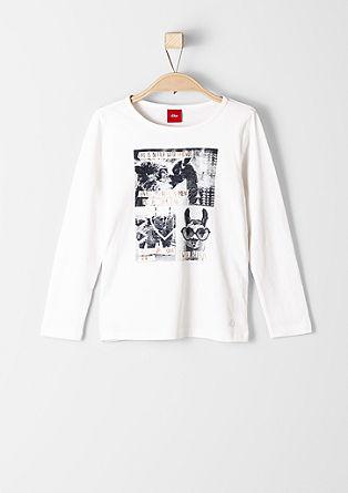 Langarmshirt mit Foto-Printcollage