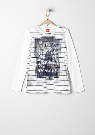 Langarmshirt mit Fotoprint