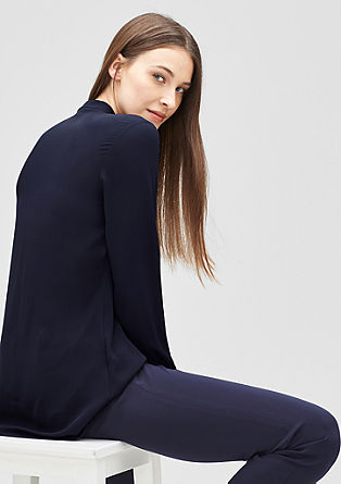 Lange blouse met laagjeslook