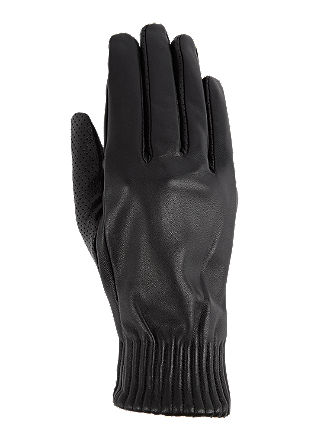 Leather gloves from s.Oliver
