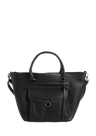 Leather-look shopper from s.Oliver