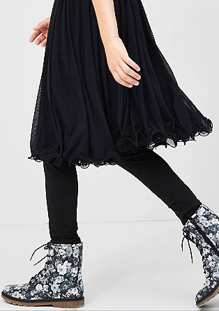 Leggings aus Baumwollstretch