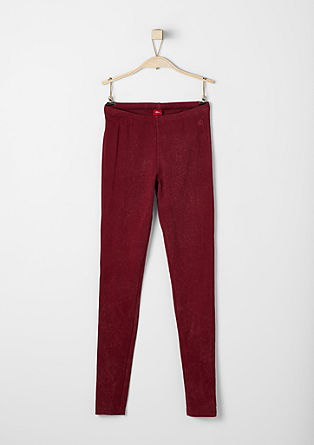 Leggings in Garment-Dye