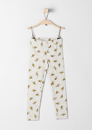Leggings with 'Maya the Bee' print from s.Oliver