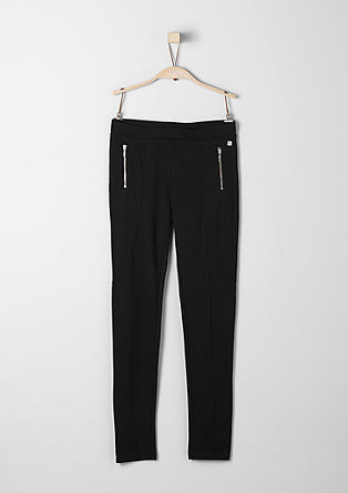 Leggings with darts from s.Oliver