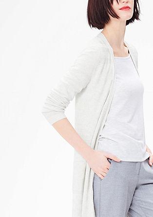 Lehký pletený kabátek
