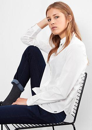 Leichte Bluse aus Baumwolle