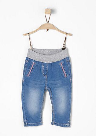 Leichte Hose mit Rippbund