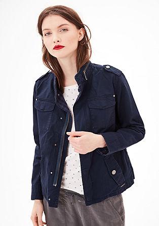 Leichte Jacke im Cargo-Look