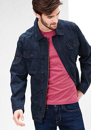 Leichte Jacke mit Wasch-Effekt