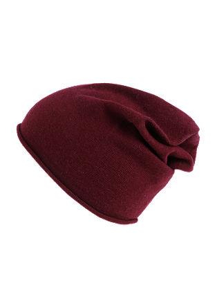 Leichte Mütze mit Wolle