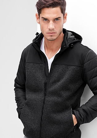 Leichte Thermore-Materialmix-Jacke