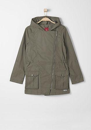 Leichter Mantel aus Baumwoll-Mix