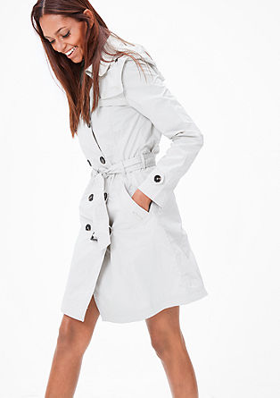 Leichter Mantel im Trenchcoat-Look