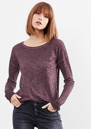 Leichter Pigment Dye-Pullover