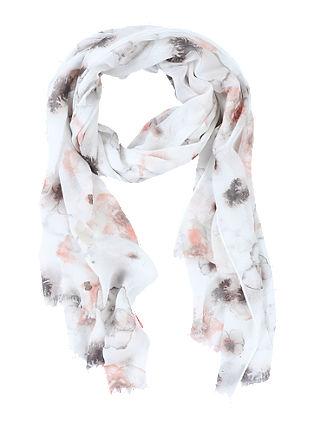 Leichter Schal mit Musterprint