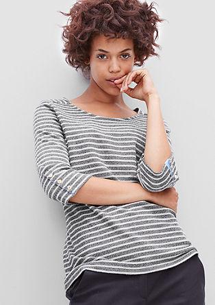 Leichter Streifen-Sweater