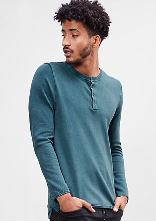 Leichter Washed-out-Pullover