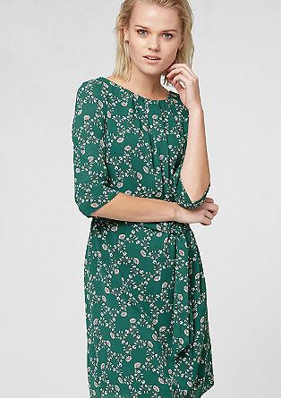 Leichtes Kleid im Vintage-Look