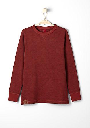 Leichtes Melange-Sweatshirt