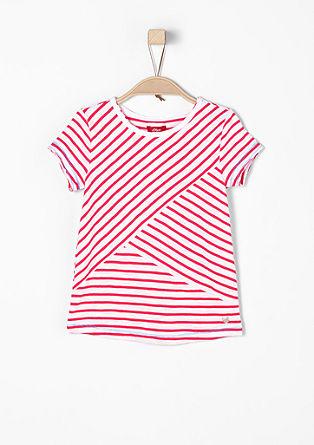 Leichtes Shirt im Streifen-Design