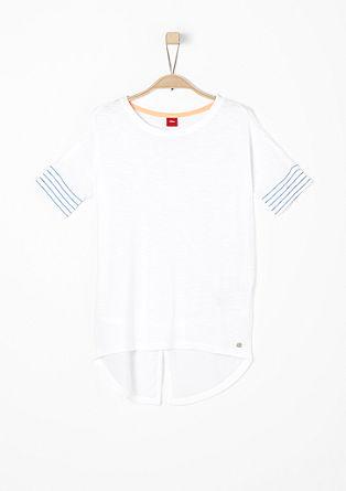 Leichtes Shirt mit Blusen-Details