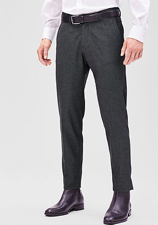Levio slim: Cropped chinos from s.Oliver