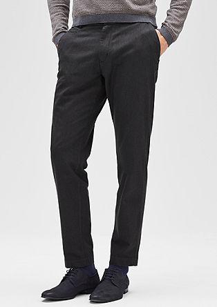 Levio Slim: poslovne hlače krajšega kroja