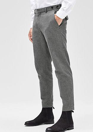 Levio Slim: skrajšane raztegljive hlače
