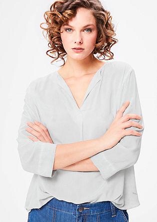 Ležerna bluza barvana s hladnim postopkom pigmentiranja