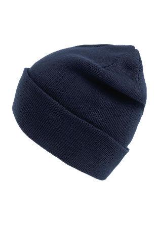 Ležerna pletena kapa