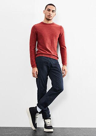 Liam Straight: barvne chino hlače