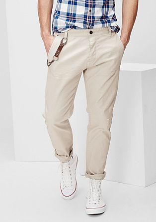 Liam Straight: Barvne jeans hlače s podrobnostmi