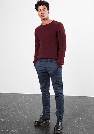 Liam straight: coloured denim