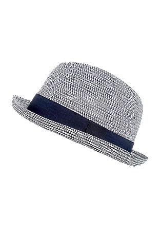 Lichte hoed met een two-tone look