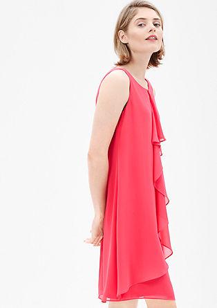 Lichte jurk van chiffon