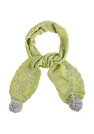 Light and airy wool knit scarf from s.Oliver
