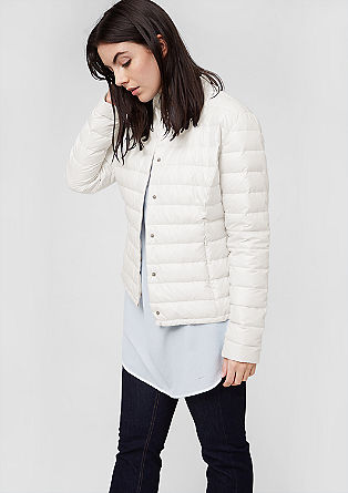 Light quilted down jacket from s.Oliver