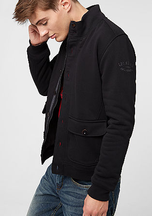 Lightly padded sweatshirt jacket from s.Oliver