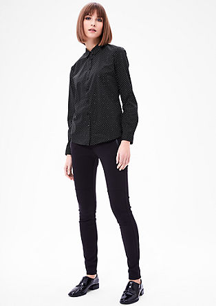 Lightweight blouse with a printed pattern from s.Oliver