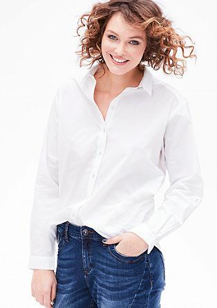 Lightweight chambray shirt blouse