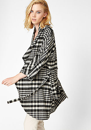 Lightweight coat in a wool blend from s.Oliver