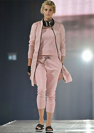 Lightweight coat with contrasts from s.Oliver