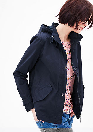 Lightweight cotton parka from s.Oliver