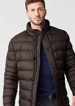 Lightweight down coat from s.Oliver