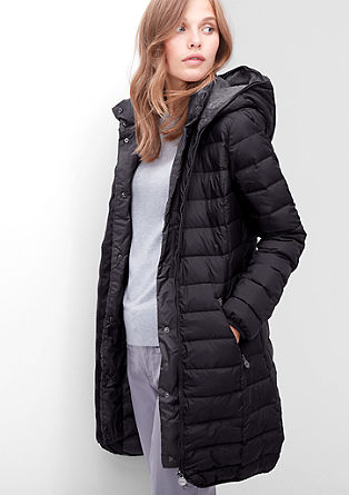 Lightweight down coat with contrasts from s.Oliver