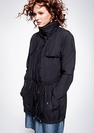 Lightweight drawstring parka from s.Oliver